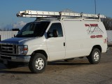 Fully equipped service van